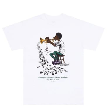 The Good Company Music Academy T-Shirt - White