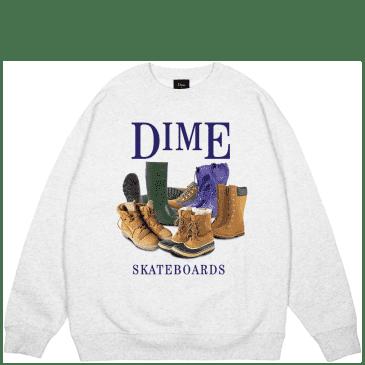 Dime Puddle Sweatshirt - Ash Grey