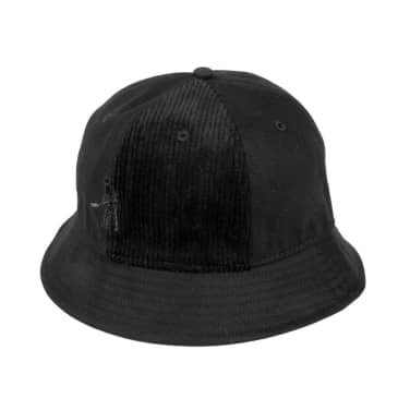 Pass~Port Cord Patch Bucket Hat - Black