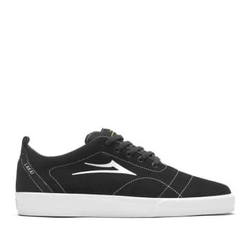 Lakai Bristol Suede Skate Shoes - Black White