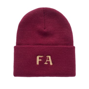 Fucking Awesome Beanie Children Of A Lesser God Maroon