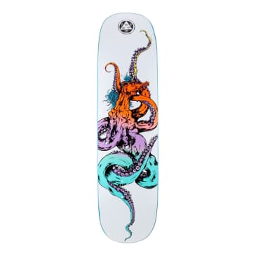 """Welcome Skateboards - 8.125"""" Seahorse 2 on Amulet Deck - White / Prism"""