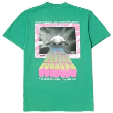 Real Bad Man Strange Sounds T-Shirt - Funk Green