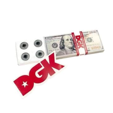 DGK Skateboard Benjamins Bearings [Pack Of 8]