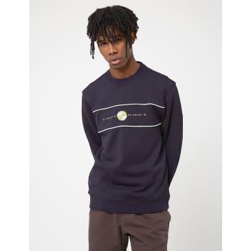 Parlez Sadler Crew Sweatshirt - Navy Blue