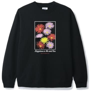 Butter Goods Happiness Crewneck - Black