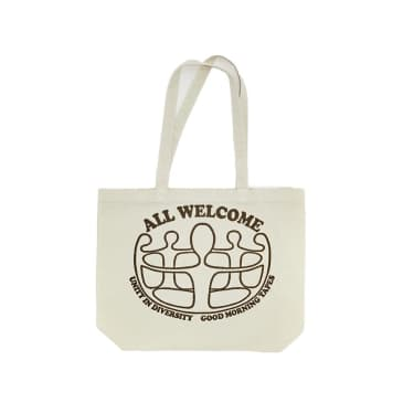 Good Morning Tapes Unity In Diversity Canvas Tote Bag - Natural