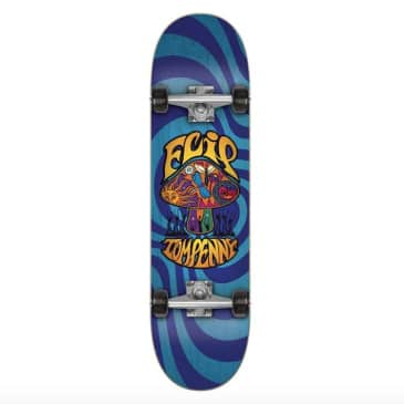 "Flip Skateboards Tom Penny Loveshroom Blue Complete Skateboard 8"""