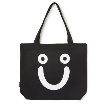 Polar Skate Co Happy Sad Tote Bag - Black
