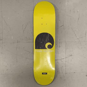 Politic Skateboards Ross Norman Hardcartt Deck