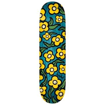 "Krooked Deck Wild Style Flowers 7.75"""