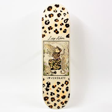 Lovenskate Master Of Camouflage Lucy Adams Pro Deck (Various Sizes)