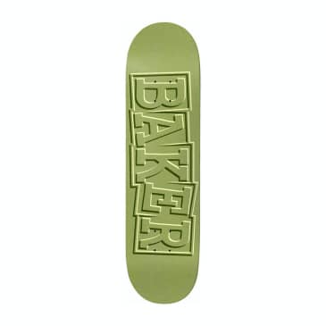 Baker Skateboards T-Funk Ribbon Green Skateboard Deck - 8.5""