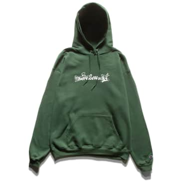 Service Works Chase Hoodie - Forest Green