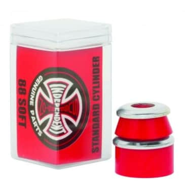 Independent - Bushings Standard Cylinder 88a Soft Red