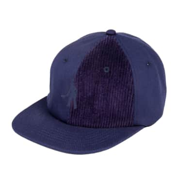 Pass~Port Cord Patch 6 Panel Cap - Navy
