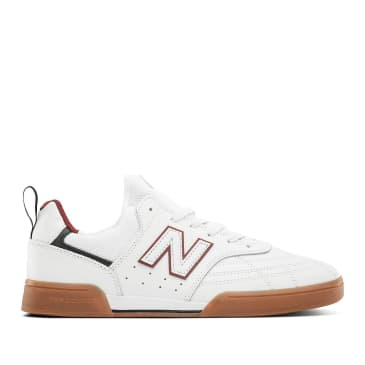New Balance Numeric 288 Sport Skate Shoe - White / Red