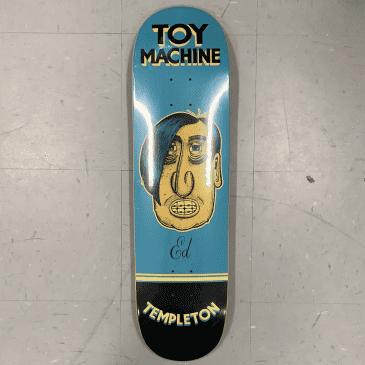 Toy Machine Skateboards Templeton Pen N Ink Deck 8.5