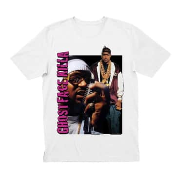 Inovation3 Ghostface Killah T-Shirt White