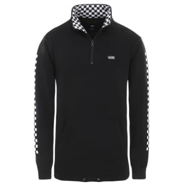 Vans Versa Quarter Zip Sweater - Black