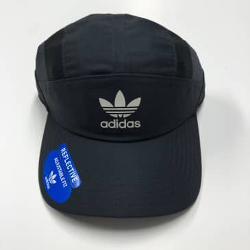 ADIDAS CIRCUIT STRAPBACK HAT BLACK/WHITE