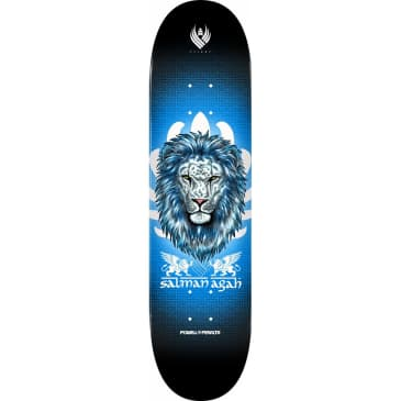 "Powell Peralta Pro Flight® Salman Agah Lion 3 Skateboard Deck 8 x 31.45"""