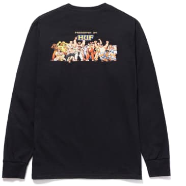 HUF x Street Fighter Ending Long Sleeve T-Shirt - Black