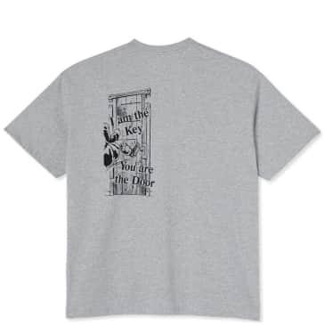 Last Resort AB I Am The Key T-Shirt - Grey Melange