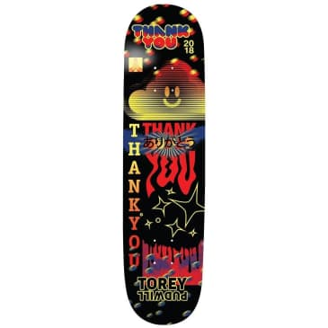 """Thank You Torey Pudwill Fly Skateboard Deck - 7.75"""""""
