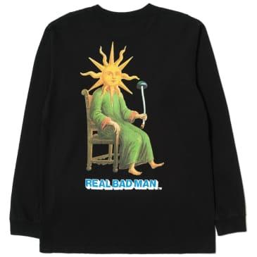 Real Bad Man Sun God Long Sleeve T-Shirt - Black