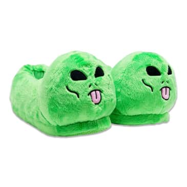 Ripndip Lord Alien Slippers - Green