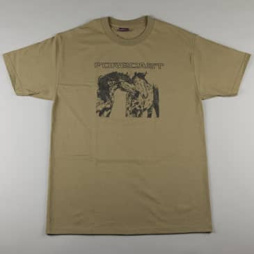 Fore-Cast 'Horses' T-Shirt (Army Green)