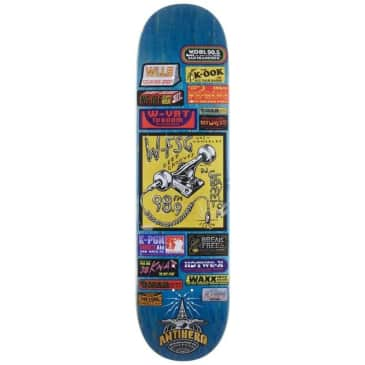 Antihero Skateboards - Taylor Broadcasting