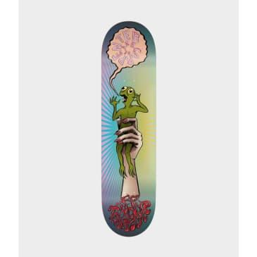 "Toy Machine Turtle In The Hand Skateboard Deck 8"""