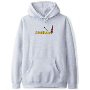 Butter Goods Match Pullover Hoodie - Heather Grey