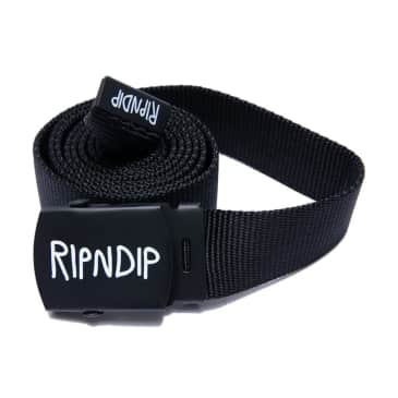 Rip n Dip Logo Web Belt Black