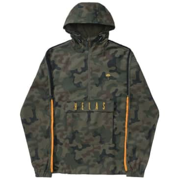 Hélas Gang Hooded Jacket - Camo