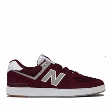 New Balance Numeric AM574 Skate Shoes - Burgundy