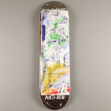 """Anti Hero 'B.A. SF Then And Now' 8.5"""" Deck"""