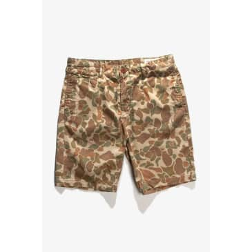 Red Ruggison - Standard Issue Shorts - Duck Camo