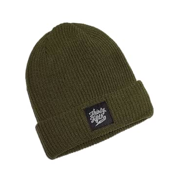 35th North Barr Logo Beanie Olive