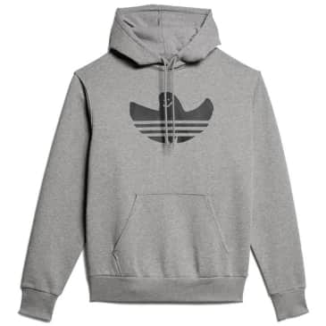 adidas Skateboarding Shmoofoil Logo Hoodie - Core Heather