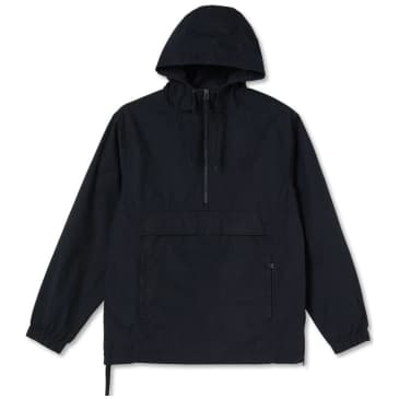 Polar Skate Co Cotton Anorak Jacket - Black