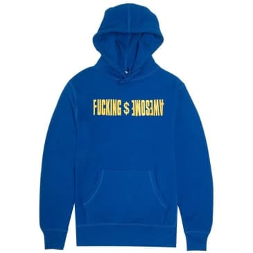 Fucking Awesome GDP Embroidered Hoodie - Royal Blue