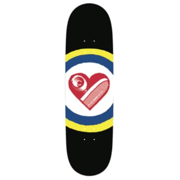 "Free Dome Skateboards - SK8heart Deck 9"" Wide"