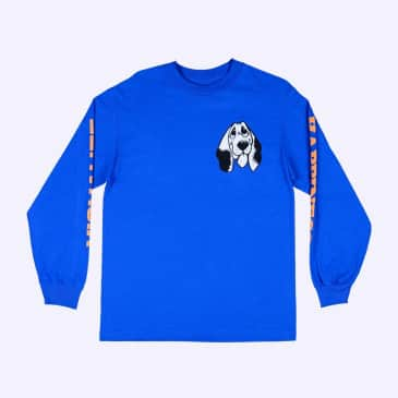 Quasi Happiness Long Sleeve T-Shirt - Royal Blue