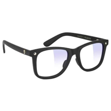 Glassy Mikemo Premium Gaming Glasses - Matte Black / Clear