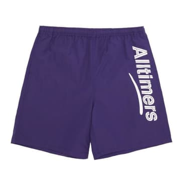 Alltimers Swum Shorts - Purple