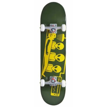 Abduction Complete Skateboard (Army Green) 8.25