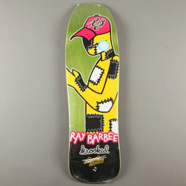 """Krooked 'Ray Barbee Redux' 9.5"""" Deck (Green)"""
